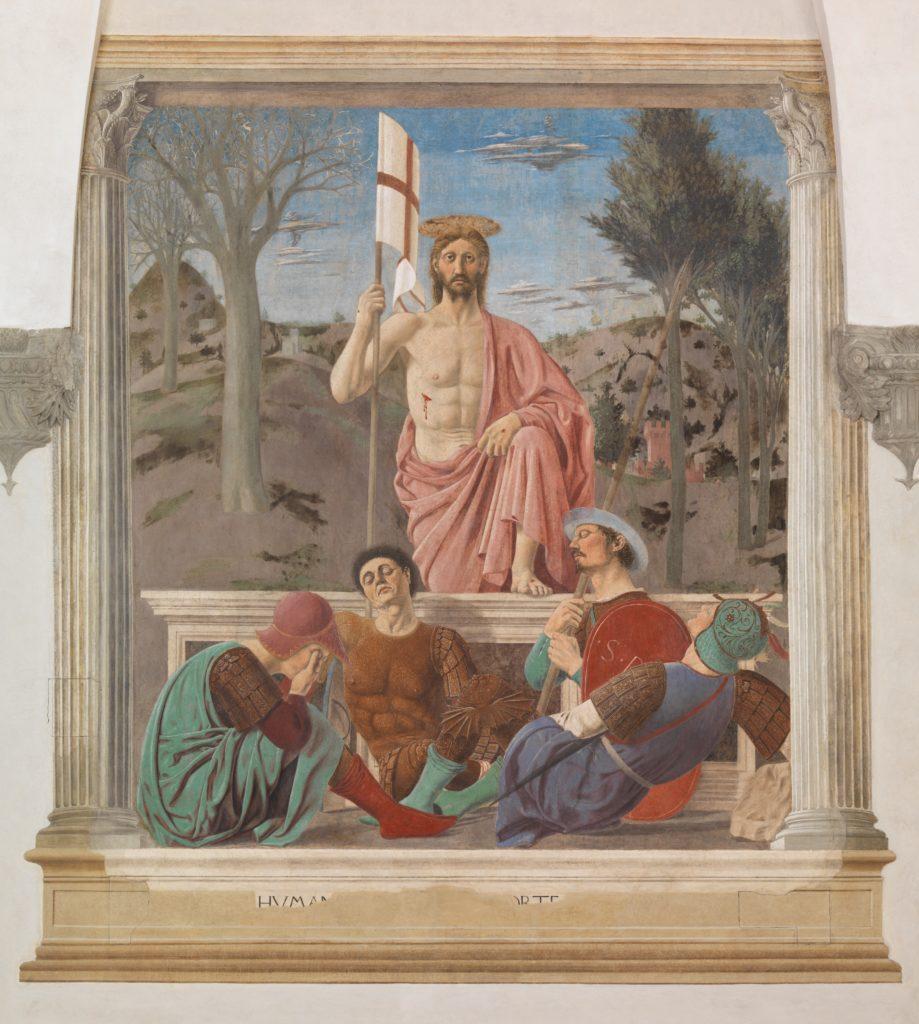 La Resurrezione di Piero della Francesca
