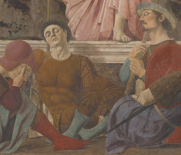 """""""La resurrezione"""" Piero della Francesca"""