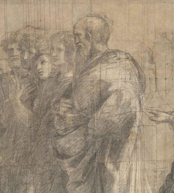 Scuola Di Restauro Roma.Il Raffaello Dell Ambrosiana In Principio Il Cartone Kermes